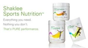 Sports Nutrition With Shaklee Products