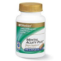 Shaklee Mental Acuity Plus