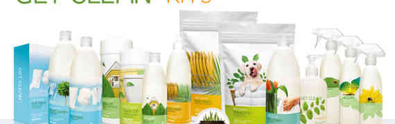 Shaklee Get Clean Starter Kit Regular Sent