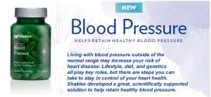 shaklee blood pressure